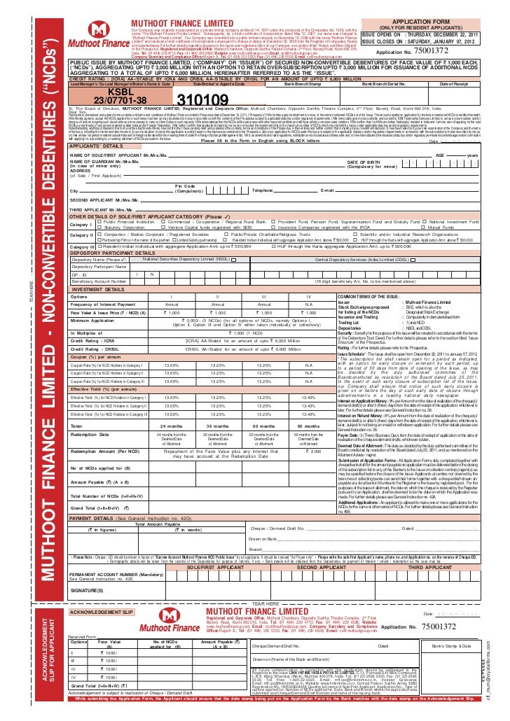 Hdfc Bank Home Loan Form