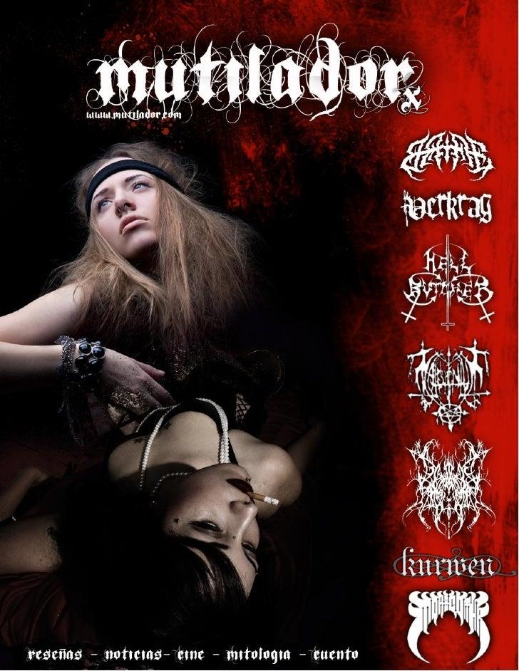 Revista Mutilador x