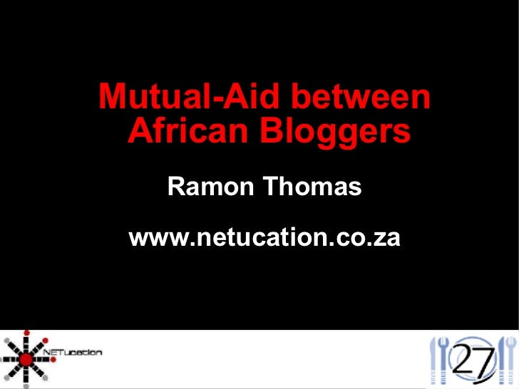Mutual Aid Between African Bloggers