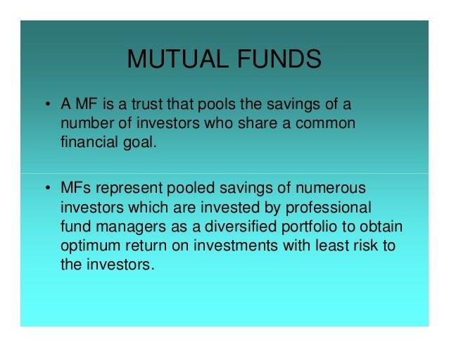 Presentation on Mutualfunds