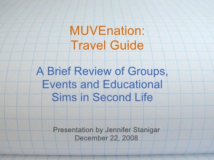 MVN08 Travel Guide