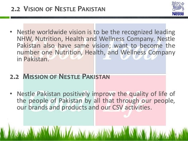 caser report of nestle foods by