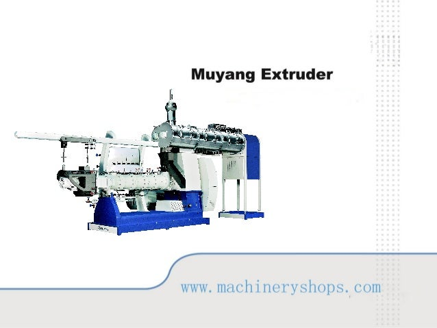 Application Machine highlights Technical parameters Extrusion process Production reference Wear parts
