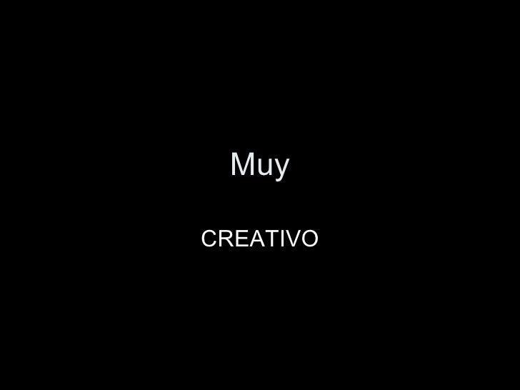 Muy CREATIVO