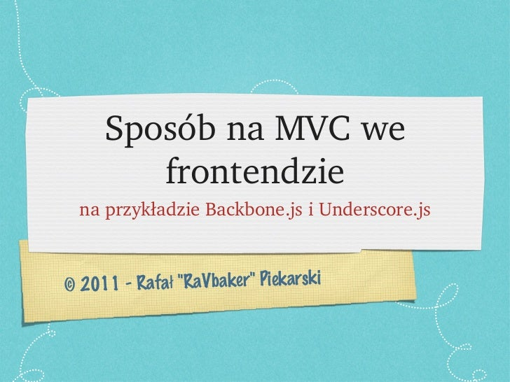Mvc frontend-trug-02-2011