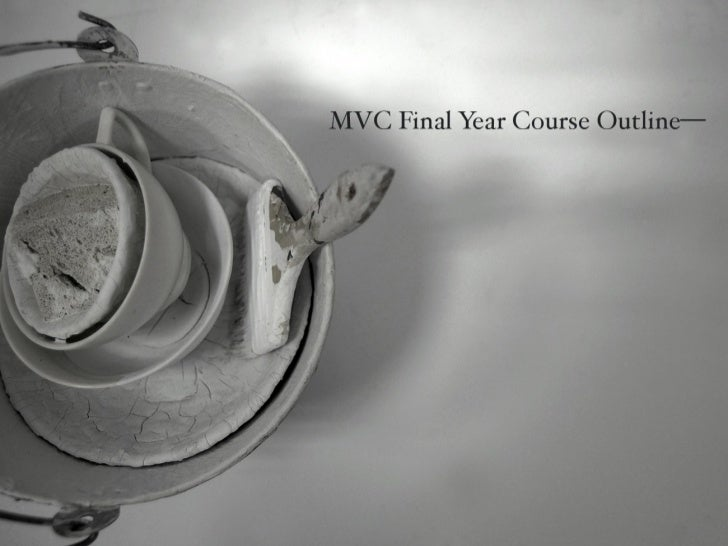 MVC Final Year Course Direction 2012