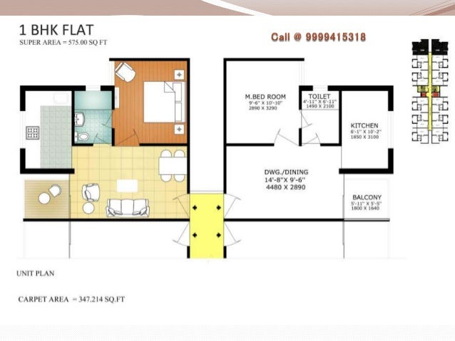 1 Bhk Floor Plan Dwg Autocad Dwg 2 Bedroom Apartment