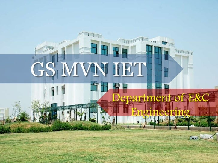 GS MVN IET Department of E&CEngineering