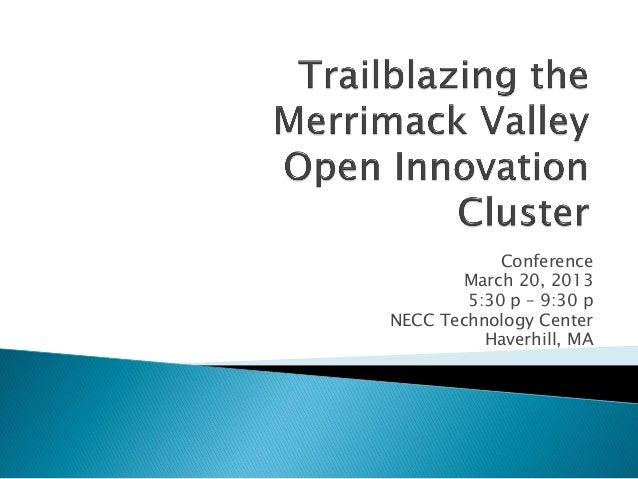 MV open innovation cluster conference handout
