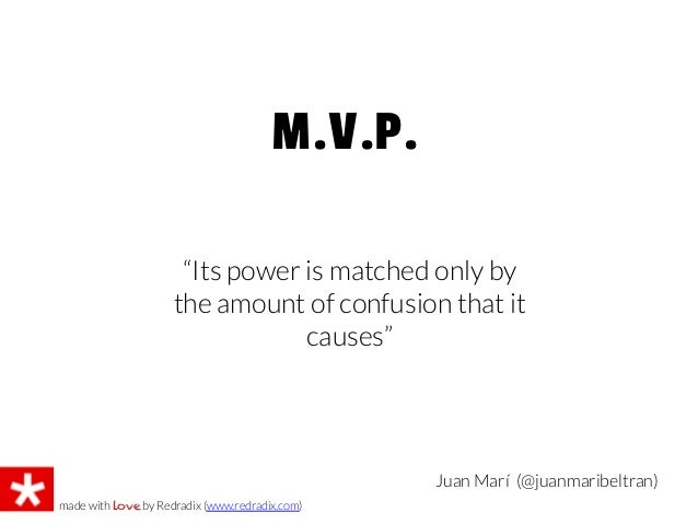 """Juan Marí (@juanmaribeltran)M.V.P.made with love by Redradix (www.redradix.com)""""Its power is matched only bythe amount of ..."""
