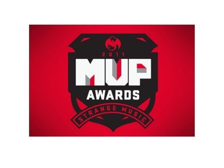 Strange Music MVP of 2011