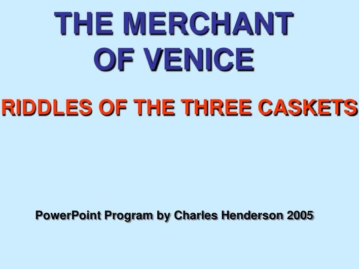 Mv Riddles Of Three Caskets