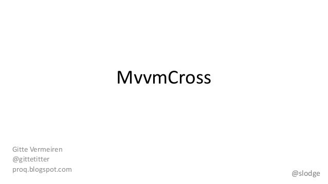 Mvvm crossevent basics