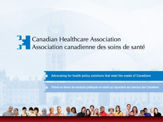 The Canadian Healthcare Association (CHA) is the federation of provincial and territorial hospital and health organization...
