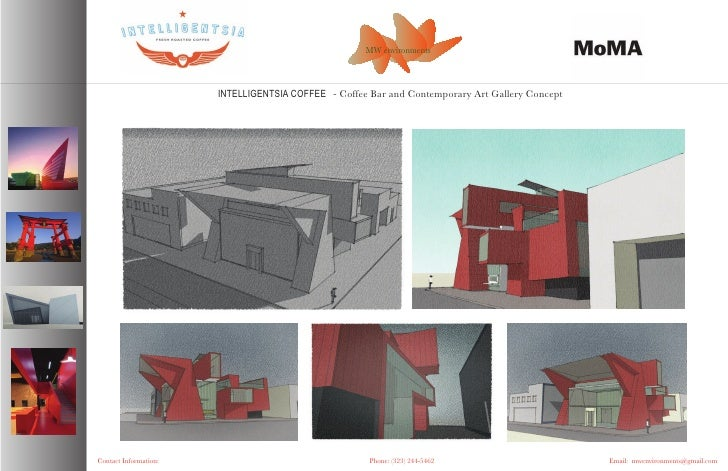 MW environments                           INTELLIGENTSIA COFFEE - Coffee Bar and Contemporary Art Gallery Concept     Cont...