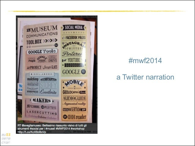 #mwf2014 !  a Twitter narration