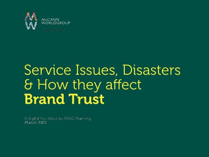 Brands & Trust Online