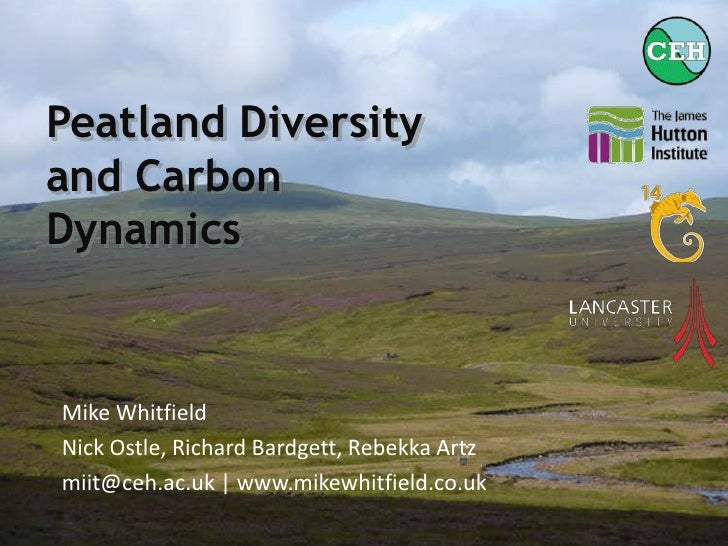 Peatland Diversity and Carbon Dynamics - BES 2011