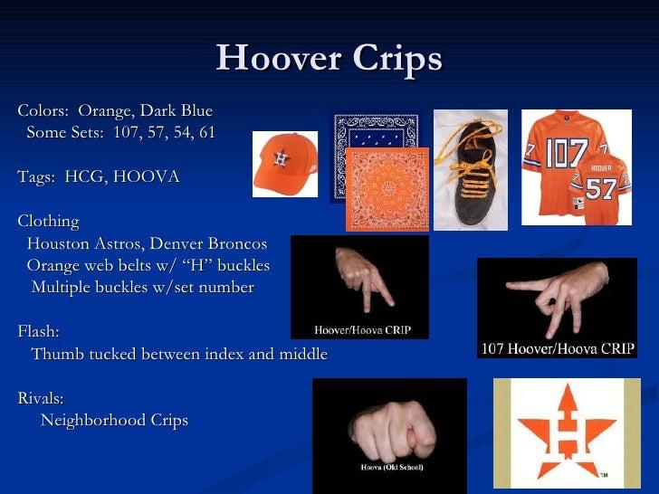 9 deuce hoover crip colors and symbols