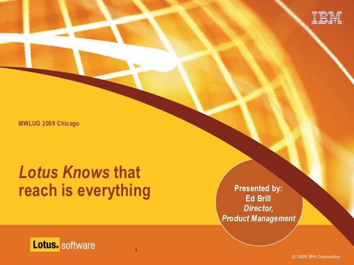 MWLUG Chicago Keynote - Ed Brill