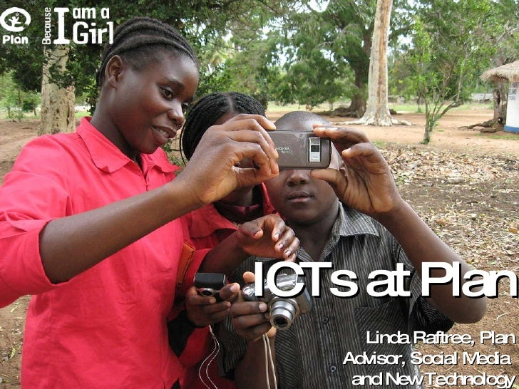 Plan's ICT4D Work - mWomen presentation