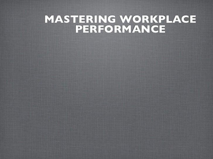 Managing Work-Life Balance: Increasing Personal Productivity