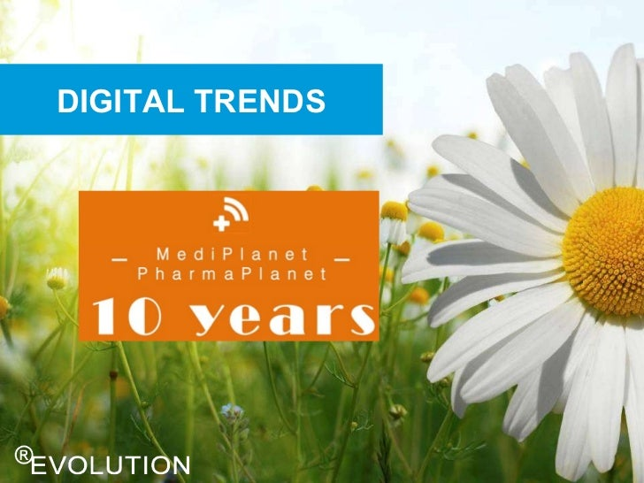 Mediplanet 10 years - social media & mobile in the pharmaceutical industry