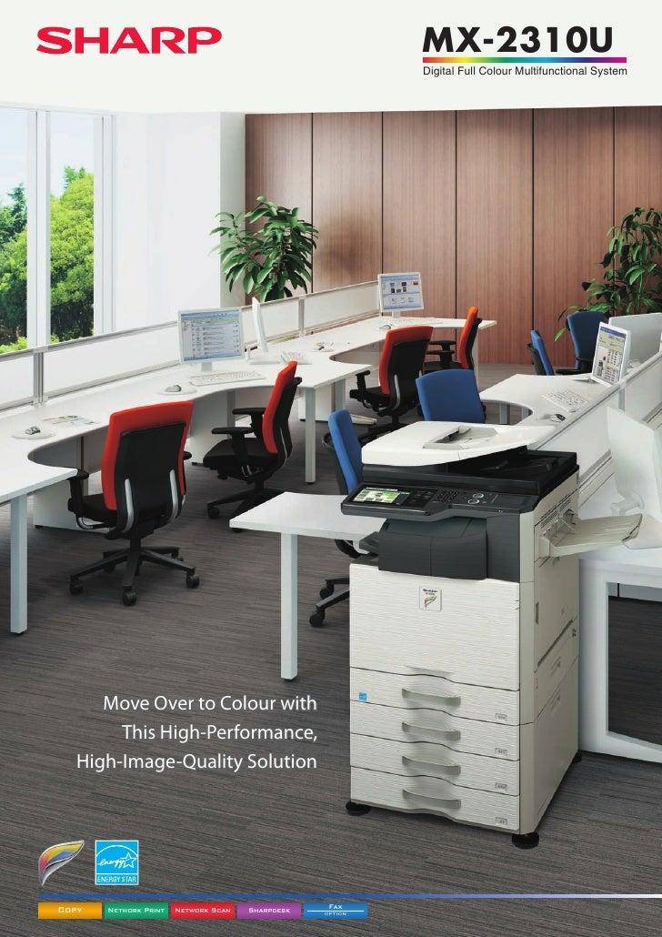 MX-2310U                                                           Digital Full Colour Multifunctional System      Move Ov...