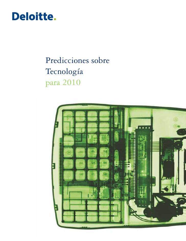 Predicciones sobre Tecnología para 2010