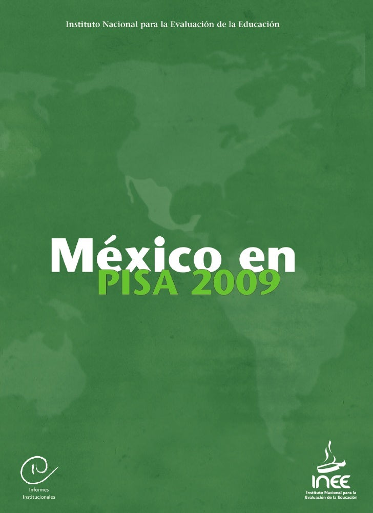 México en PISA 2009, informe completo