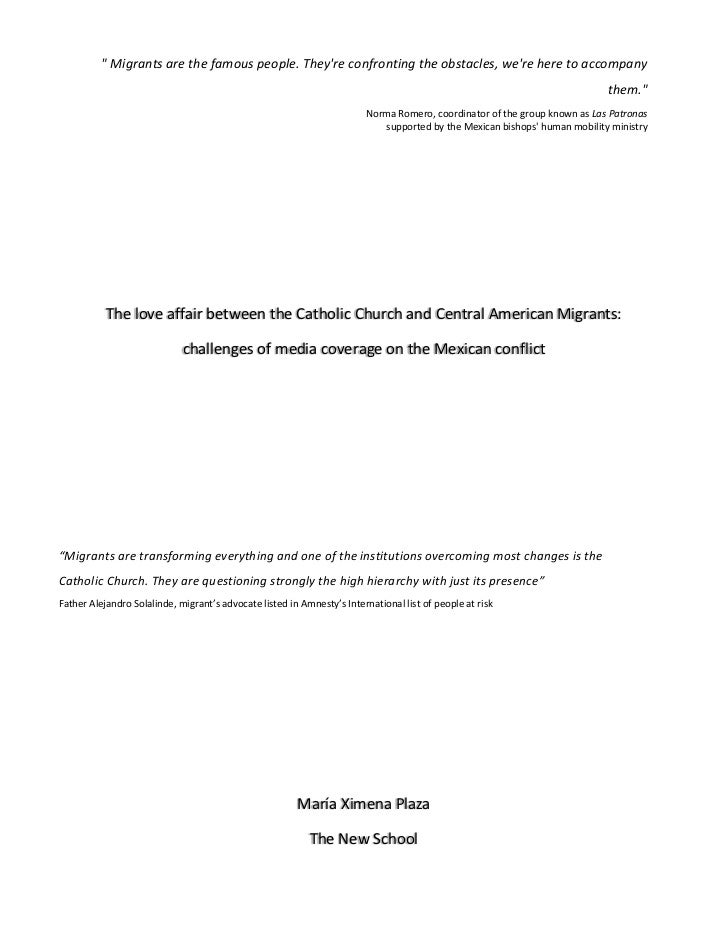 Media Coverage Analysis on the Mexican Conflict