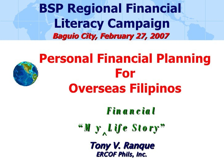 My Financial Life Story (Bsp)