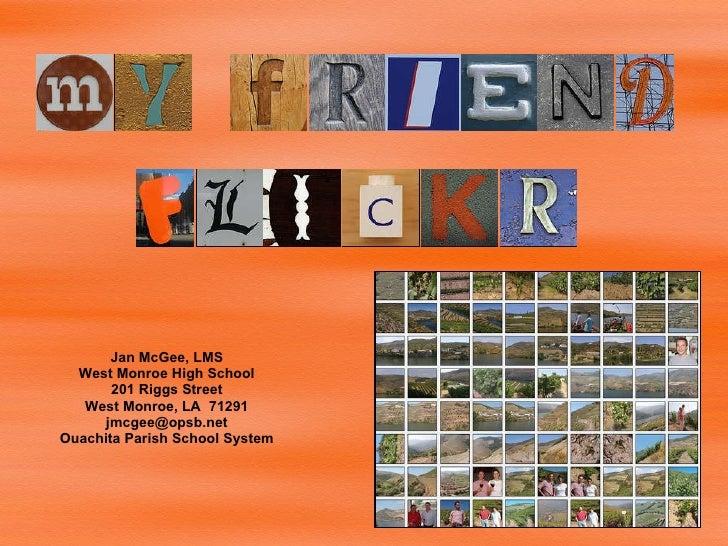 My Friend Flickr