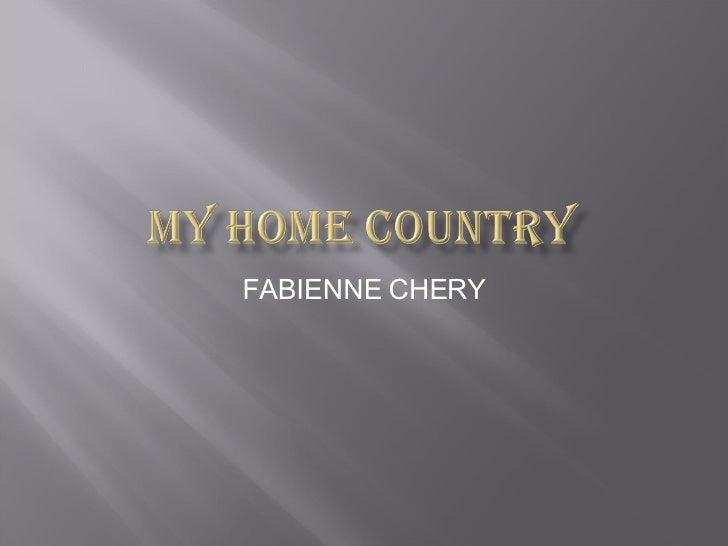 FABIENNE CHERY