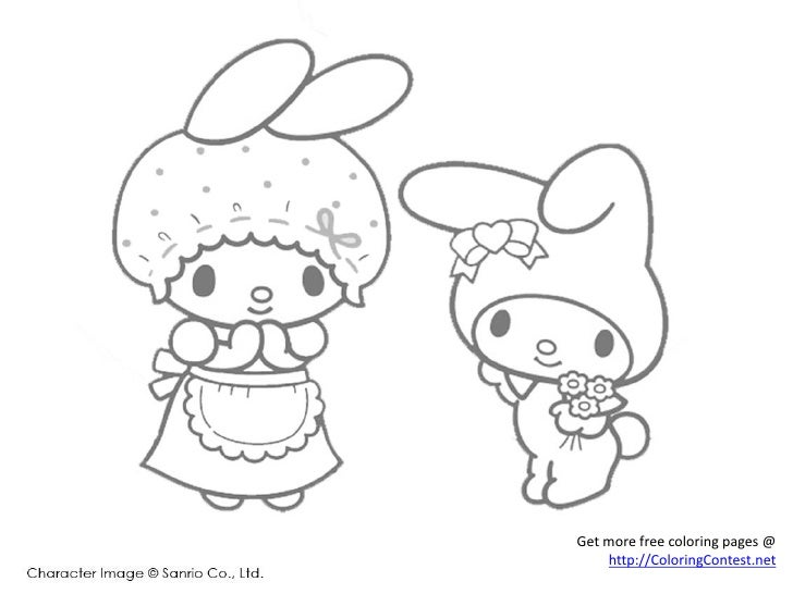 Keroppi And Friends Coloring Pages Get More Free Coloring Pages