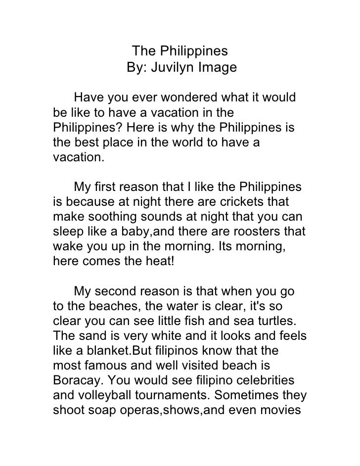 The Philippines By: Juvilyn Image Have you ever wondered what it ...