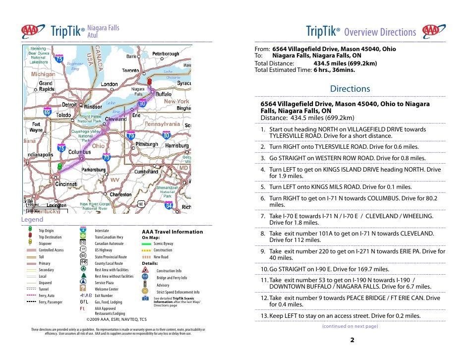 TripTik® NiagaraFalls                           Atul                                                                   ...