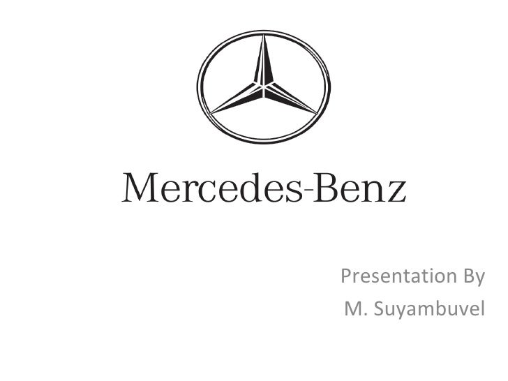 Presentation By M. Suyambuvel