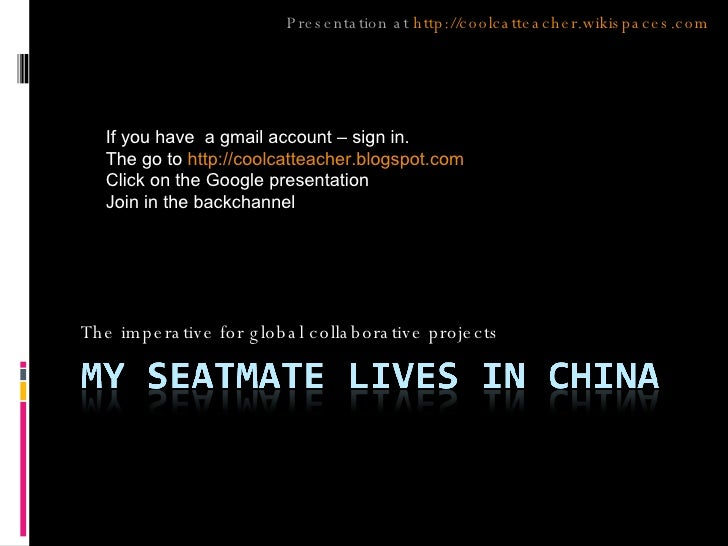 My Seatmate Lives In China Gaetc Nov 2007 Touploadversion