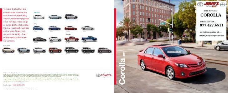 2011 Toyota Corolla at Jerry's Toyota in Baltimore Maryland