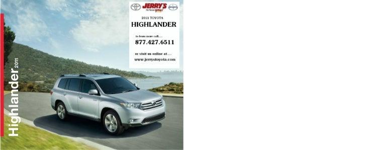 Highlander   2011                    US-HI11-1-A