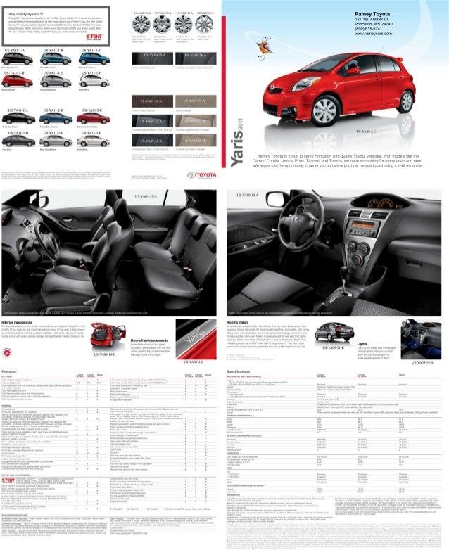 2011 Ramey Toyota Yaris Princeton Wv
