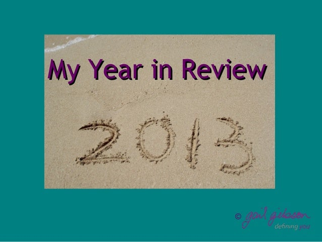 My 2013 in Review
