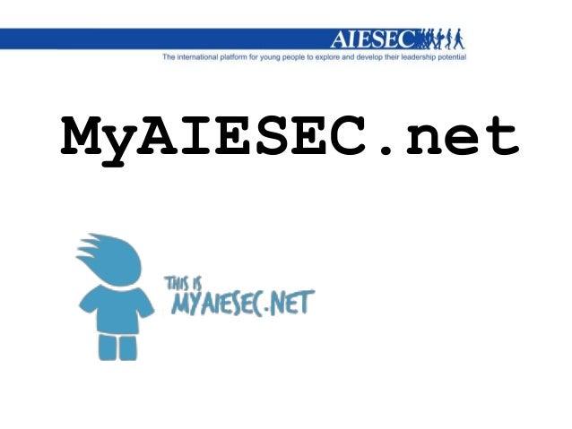 Myaiesec.net for new members