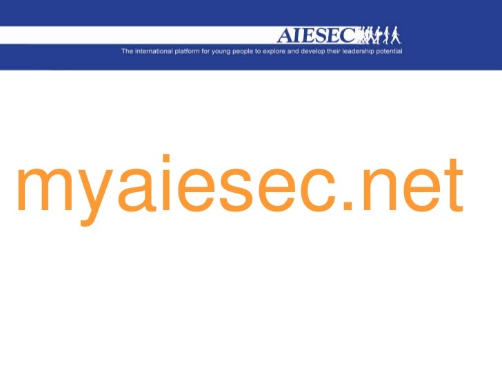 myaiesec.net<br />