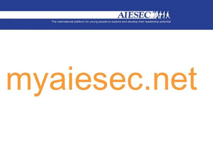 Myaiesec intro   login acces - im making knowledge