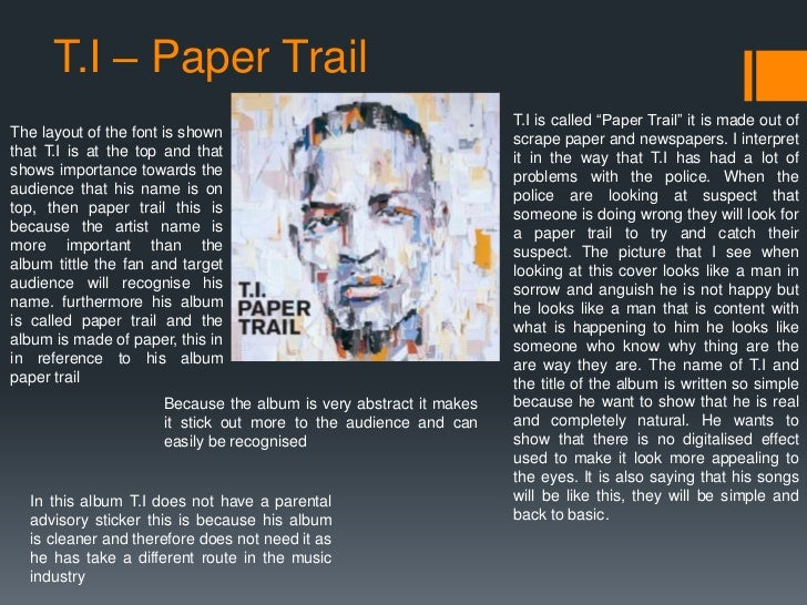 gallery for gt ti paper trail cd