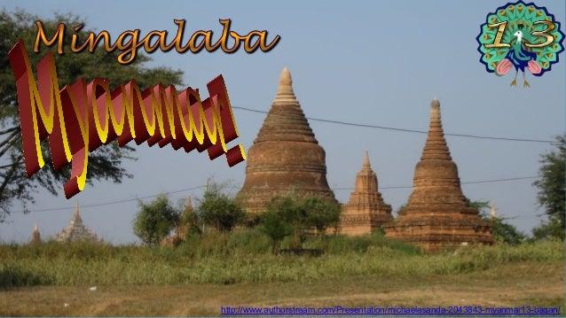 Bagan Taung Bi village