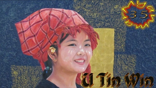 U Tin Win, born 1952 in Myanmar, is a graduate of the State School of Fine Arts in Mandalay in 1970. Tin Win is highly reg...