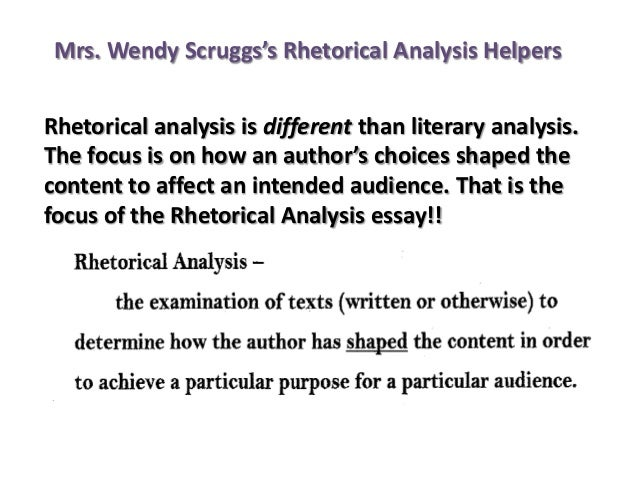 ap language essay rhetorical analysis